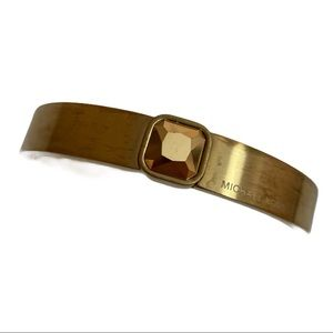 Michael Kors | Gold-Tone Hinged Bracelet